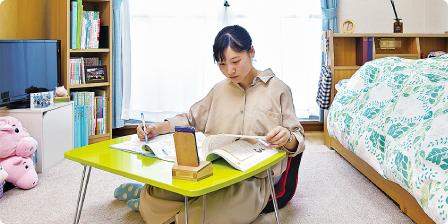 女子寮完備。寮費月額2万円!