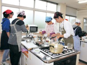 調理・被服実習室